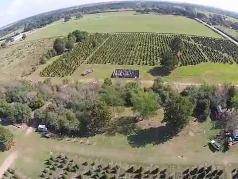 HighStar Christmas tree farm drone