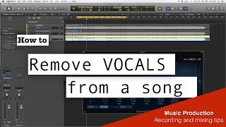 Download How to Remove Vocal From a Song - Easy - Logic pro X Mp3 and Videos