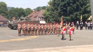 1 (UK) Armoured Division Re designation Parade to 1 (UK) Division!