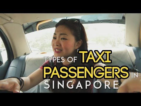 Types of Taxi Passengers in Singapore