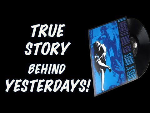 Guns N' Roses: The True Story Behind Yesterdays! Slash's Stand In, Early 1988 Performance & More!