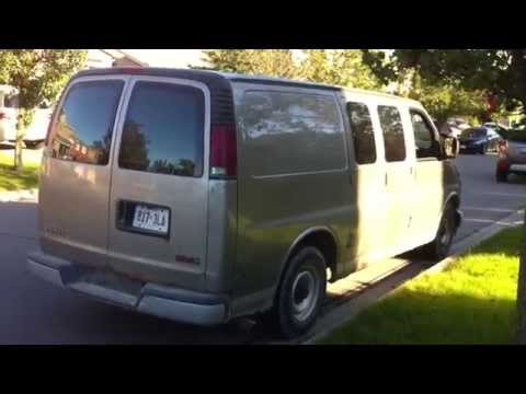 2002 GMC Savana 2500 Cargo Van Startup Engine & In Depth Tour
