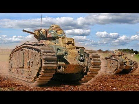 ФРАНЦУЗСКИЕ танки о существование которых сами французы не знали. Танки времен второй мировой.