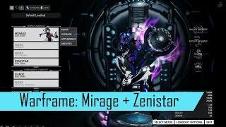 Warframe: Mirage + Zenistar in Akkad