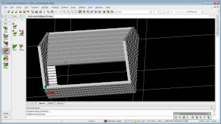 Aec Floors, Stairs And Railings In Caddie .dwg Architecture Compatible Cad Software