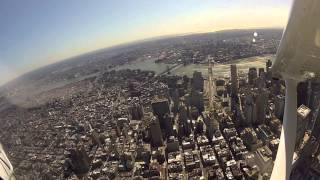 Breathtaking Aerial View of One World Trade Center (Freedom Tower)