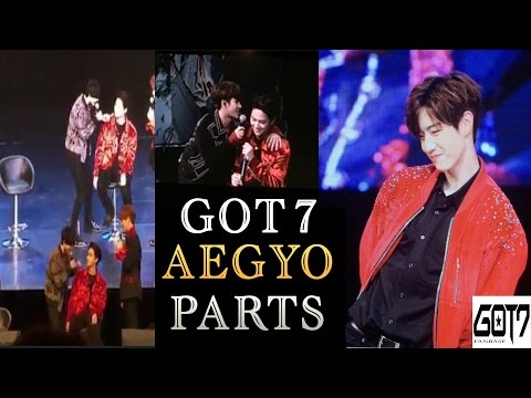 170107 - GOT7 members aegyo parts (the sweetest thing ever in Taipei)