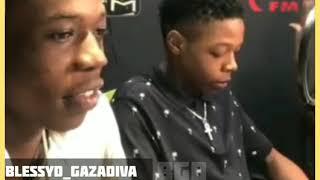 Vybz Kartel Sons Interview with Zip 103 FM