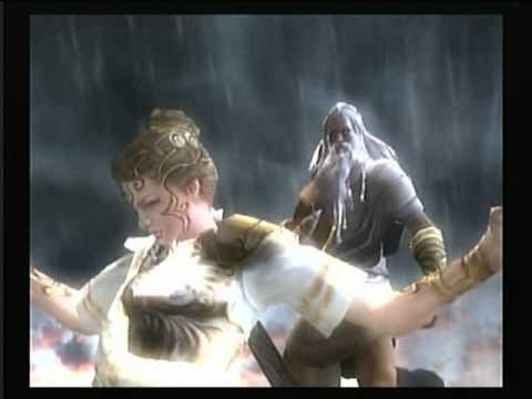 God of War II - Athena 2/2 - YouTube