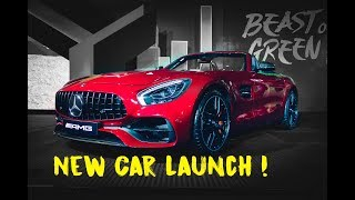 Mercedes AMG GT Roadster Launch in India | New Delhi | #163