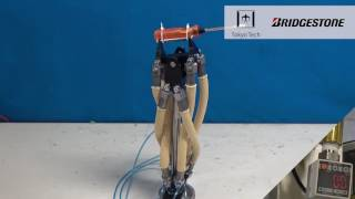 High-Power Hydraulic Artificial Muscle for Tough Robots thumbnail
