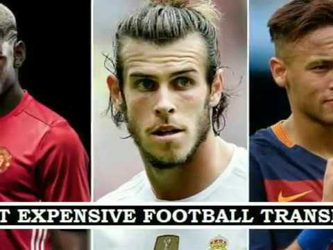 Top 10 Most Expensive Football Transfers in History