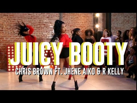 Juicy Booty | Chris Brown Ft. Jhene Aiko & R Kelly | Aliya Janell Heels Choreography