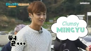 Why we love SEVENTEEN #33: Clumsy Mingyu