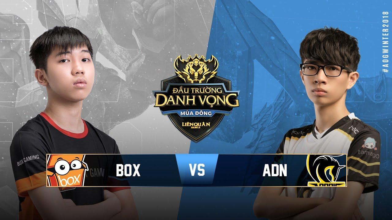 BOX GAMING vs HONOR ADONIS [Vòng 8][04.10.2018] - Đấu Trường Danh Vọng Mùa  Đông 2018