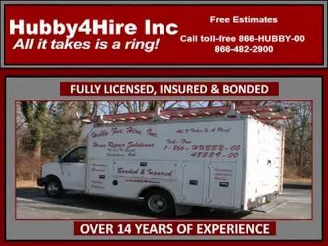 Handyman Bucks County, PA | Hubby4Hire-215-345-1684