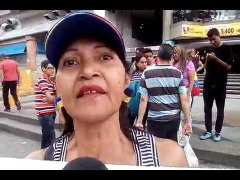 """Gladys Pérez, El Paraíso, marcha al TSJ: """"Magistrados Gob. no cuentan ni con CV"""""""