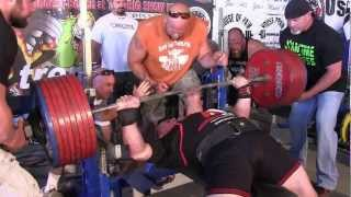 Tiny Meeker Over 964 lbs Coming Crashing on Chest