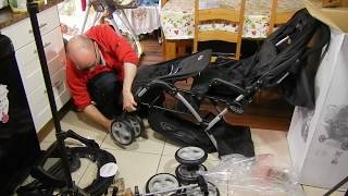 Download Video Graco double stroller stadium duo pushchair buggy for twins review MP3 3GP MP4