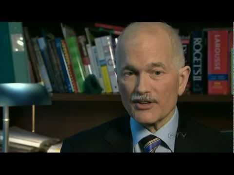 Jack Layton 1950 - 2011 (CTV coverage)