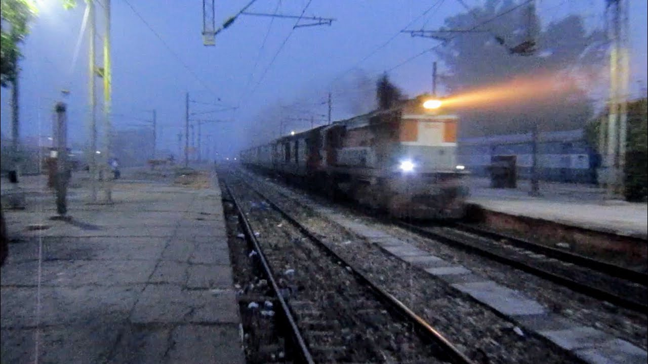 Download 12234 Jammu Tawi - Kathgodam Garibrath Express With LDH WDM3A - INDIAN RAILWAYS !!