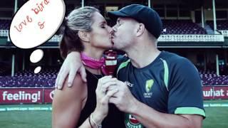 Cricketer kiss video
