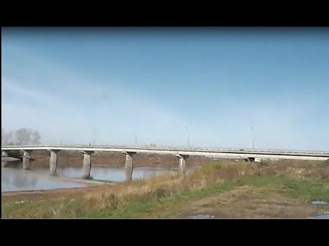 Мост в Мариинске (поехал в деревню)
