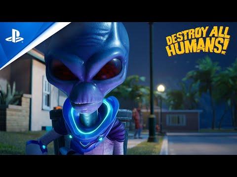 Destroy All Humans! – Cryptosporidium-137 presents: Fun with Guns | PS4