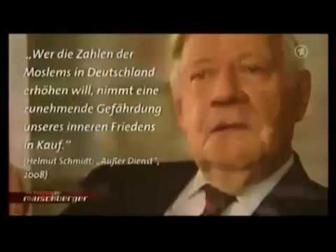 Willy Brandt und Helmut Schmidt - Rassistische Aussagen über Migranten und Muslime