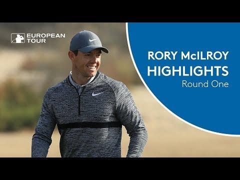 Rory McIlroy Highlights | Round 1 | 2018 Omega Dubai Desert Classic
