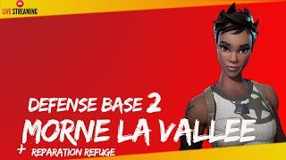 "FORTNITE - BOUCLIER ANTI TEMPÊTE BASE 2 MORNE THE VALLEE ""SAUVER THE WORLD"" - PS4 720P Fr"