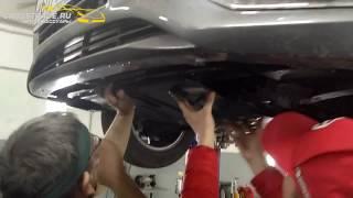видео Защита картера двигателя Hyundai
