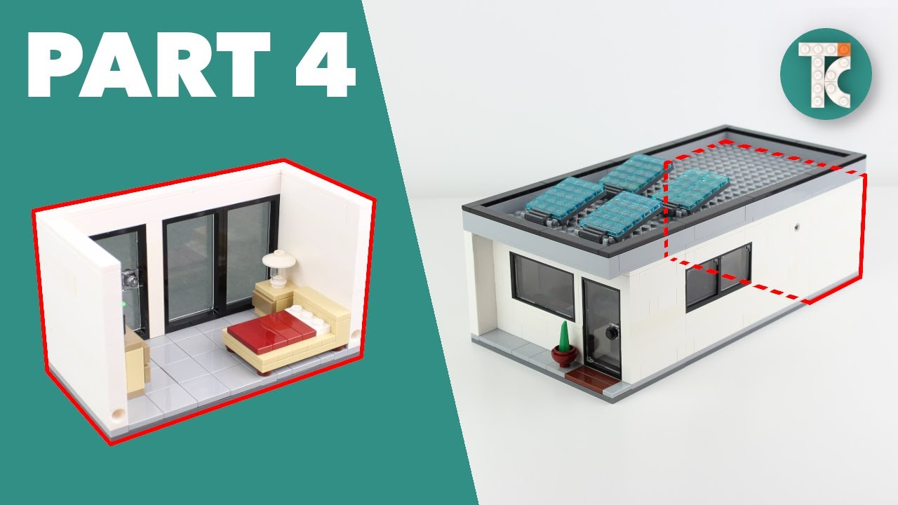 LEGO HOUSE TUTORIAL (Part 4 Bedroom)
