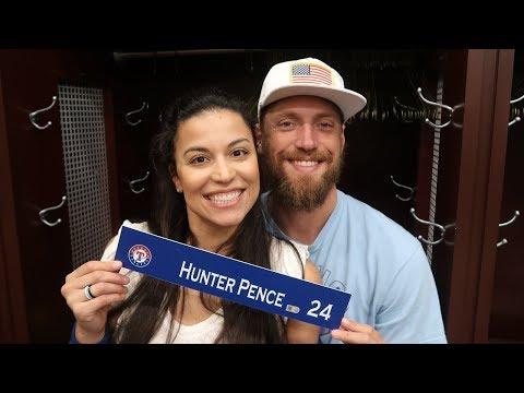 Texas Rangers Locker Clean Out 2019 | Hunter Pence