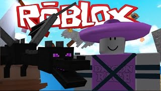 Roblox Funny Moments - Attack of The Dragons, Dogeball Match, and Sombrero Fun!