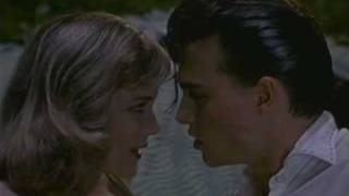 Johnny Depp - Cry baby. Scena del bacio