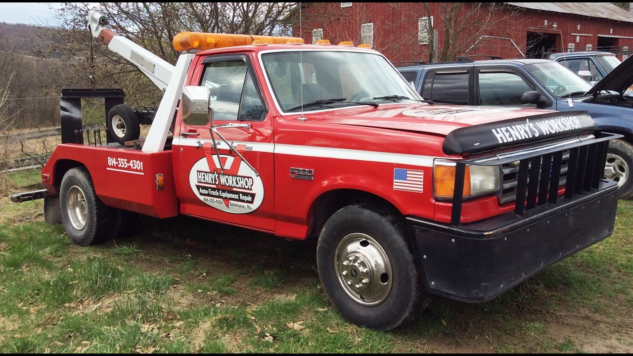 1987 Ford F-350 wrecker/tow truck