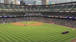 At Colorado Rockies Vs Giants National Anthem April 12, 2016 - Coors Field