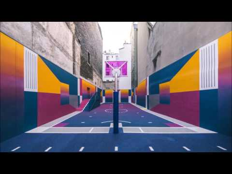 This Technicolor Basketball Court is in Paris, France Slideshow