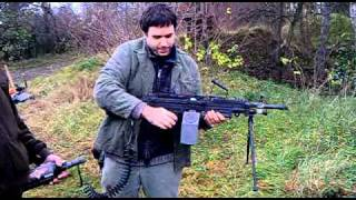 WGNV machine gun M249 paintball