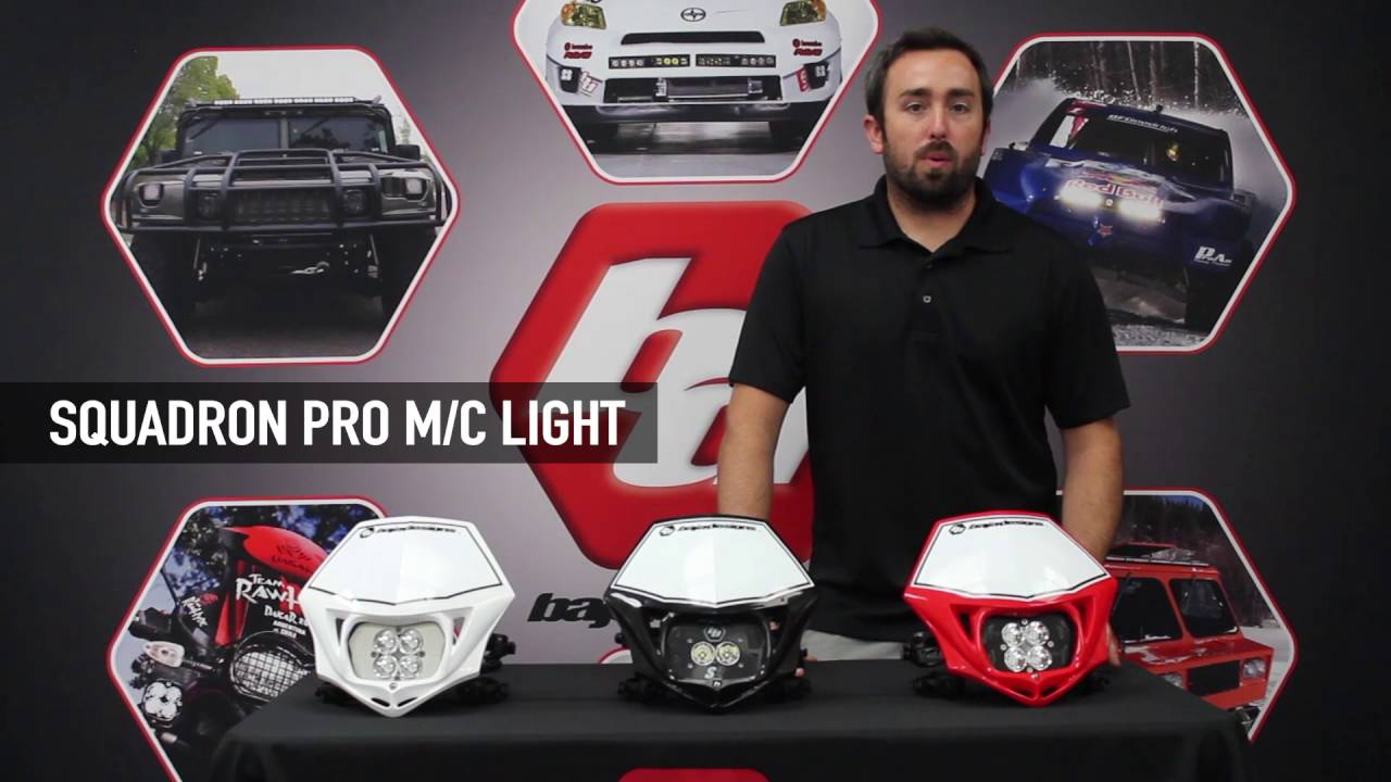 baja designs led motorcycle headlights lineup and overview bajadesigns [ 1280 x 720 Pixel ]