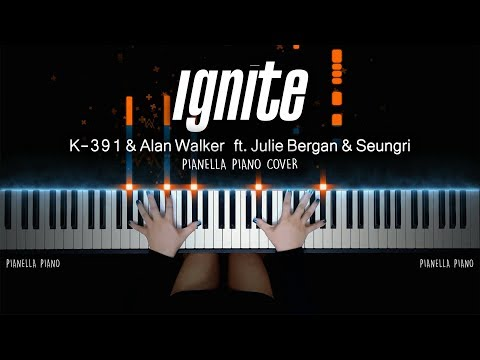 K - 391 & Alan Walker - Ignite (Piano Cover by Pianella Piano) [ft. Julie Bergan & Seungri]