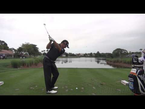 GOLF SWING 2013 - GRAEME MCDOWELL IRON - DTL REGULAR SPEED & SLOW MOTION - 1080p HD