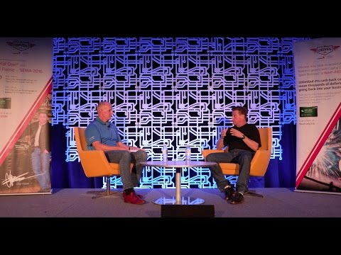 SCRS and Capital One Spark Business talk with Chip Foose at the 2016 SEMA Show