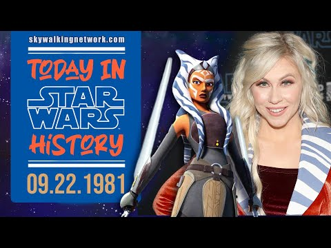 TODAY IN STAR WARS HISTORY: 9/22/1981 - Happy Birthday Ashley Eckstein!