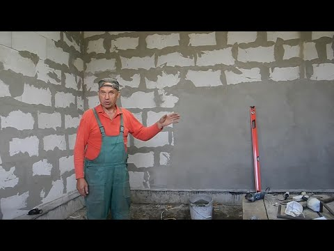Штукатурка стен видеоурок