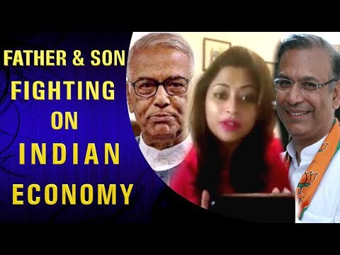 SEE JAYANT SINHA FIGHT AGAINST HIS FATHER YASHWANT SINHA