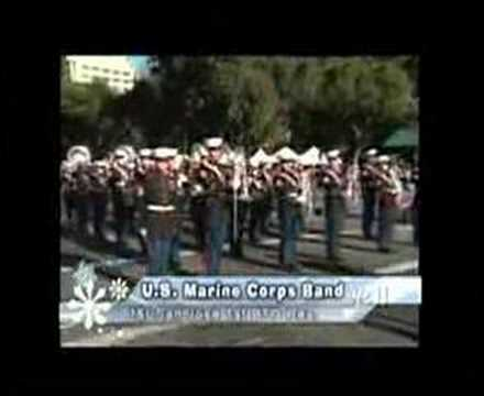 US Marine Band at 2007 San Jose Holiday Parade