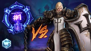 Solo lane Johanna vs GM#1 // Heroes of the Storm