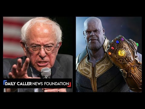 Is Bernie Sanders Actually Thanos From The Avengers?